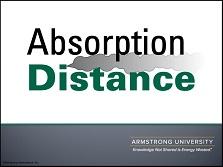 Absorption Distance