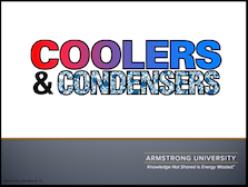 Coolers & Condensers