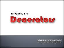 Deaerators - Introduction