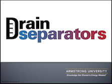 Drain Separators