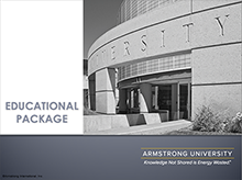 Armstrong University Package - Education