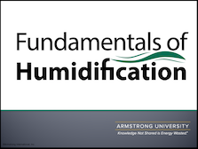 Fundamentals of Humidification
