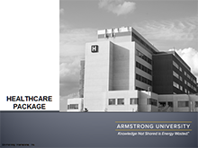 Armstrong University Package - Healthcare
