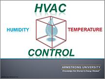 HVAC Controls - Humidity and Temperature