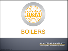 O&M Best Practices for Boilers