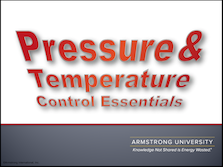 Pressure and Temperature Control Essentials