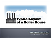 Typical Layout of a Boiler House