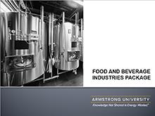 Armstrong University Package - Food & Beverage