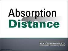 Absorption Distance