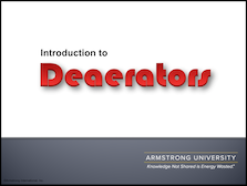 Deaerators - Introduction
