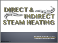 Direct and Indirect Steam Heating
