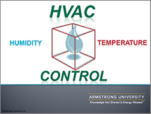 HVAC Controls - Humidity and Temperature