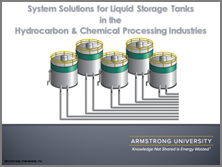 System Solutions for Liquid Storage Tanks for HPI/CPI Industries