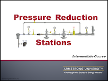 Pressure Reduction Stations