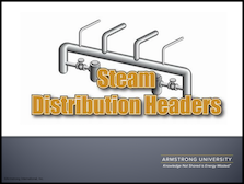 Steam Distribution Headers