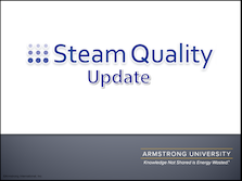 Steam Quality - Update