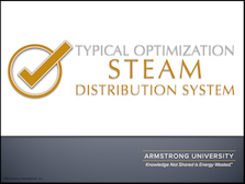 Typical Optimizations for a Steam Distribution System
